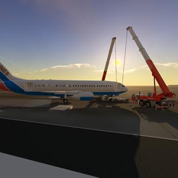 机场事故疏散