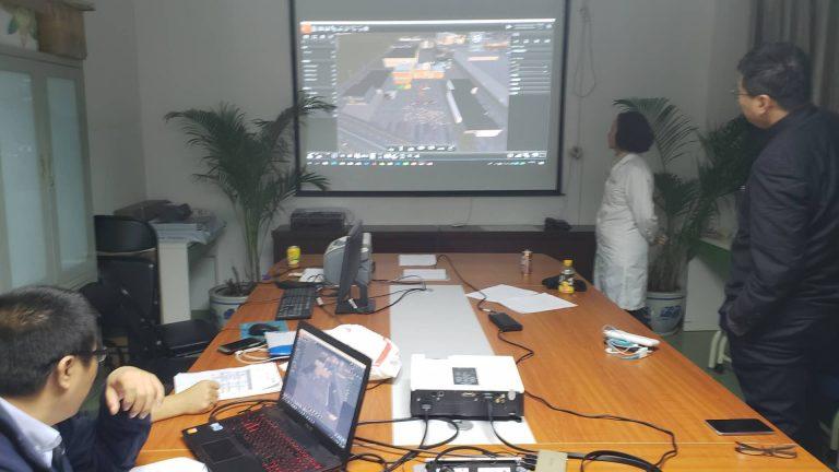 我司支持中国医学救援协会北京朝阳医院西区进行模拟培训